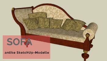 Antik möbel sofa  Antike Möbel