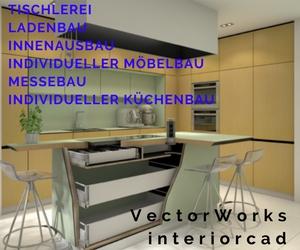 Vectorworks interiorcad for Innenarchitektur software